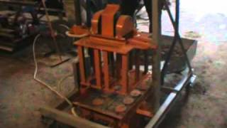 Concrete Block Making Machine BLOX-2TT DIY (Do It