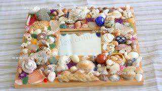 All comments on manualidades marco de espejo decorado for Espejos decorados con piedras