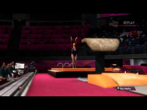 London 2012: The Official Video Game - Women's Vault