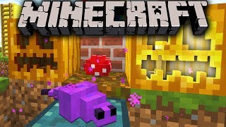 Minecraft 1.8 Snapshot: Endermite Chest Spawn, 3D Pumpkin