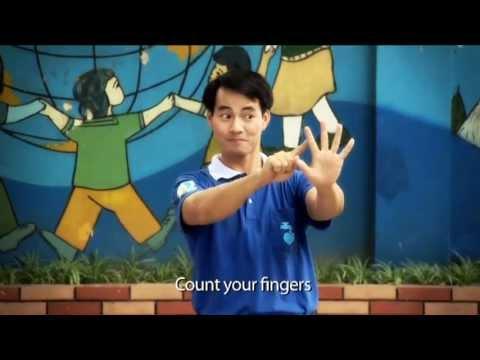 Rửa tay với xà phòng cùng ĐSTC UNICEF Xuân Bắc - Hand Washing with soap with the UNICEF G.A Xuan Bac