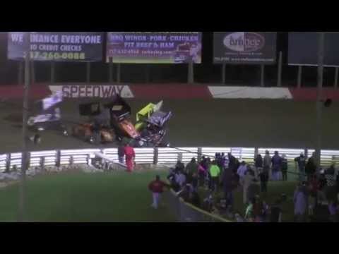Lincoln Speedway 410 and Super Sportsman Highlights 4-12-14