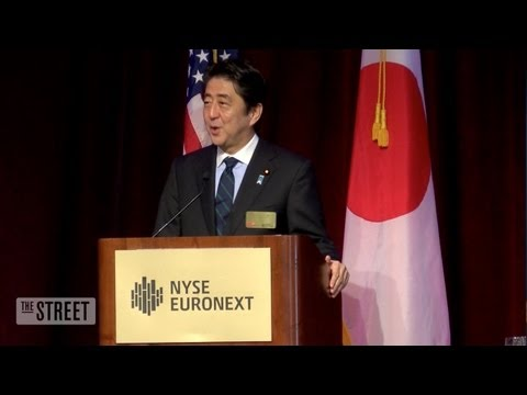 PM Abe Proclaims Japan A 'Buy'
