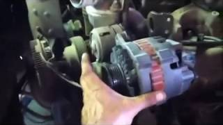 How To Remove And Replace A Alternator On A 1995 Chevy