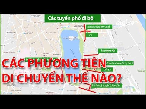 (VTC14)_Khu Hồ Hoàn Kiếm thành phố đi bộ, các phương tiện di chuyển thế nào?