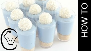 Mini Vanilla Cheesecake Shot Glass Cup Desserts by Cupcake Savvy's Kitchen