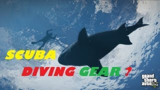 GTA 5 ALL DINGHY BOAT Location/ SCUBA DIVING Gameplay