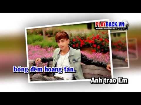 [ Karaoke HD ] Chia Tay Trong Mưa Remix - Hồ Quang Hiếu