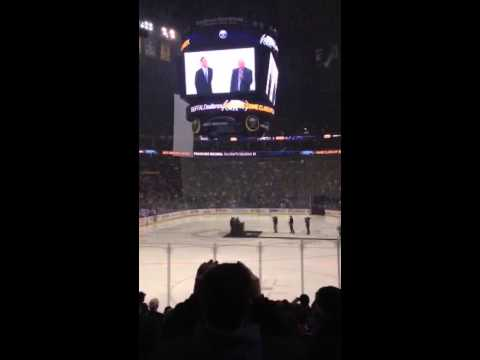 Dominik Hasek induction into Sabres Hall of Fame