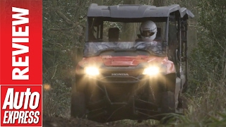 Honda Pioneer ATV review: mud and drifting in Honda's ultimate utility vehicle. Auto Express.