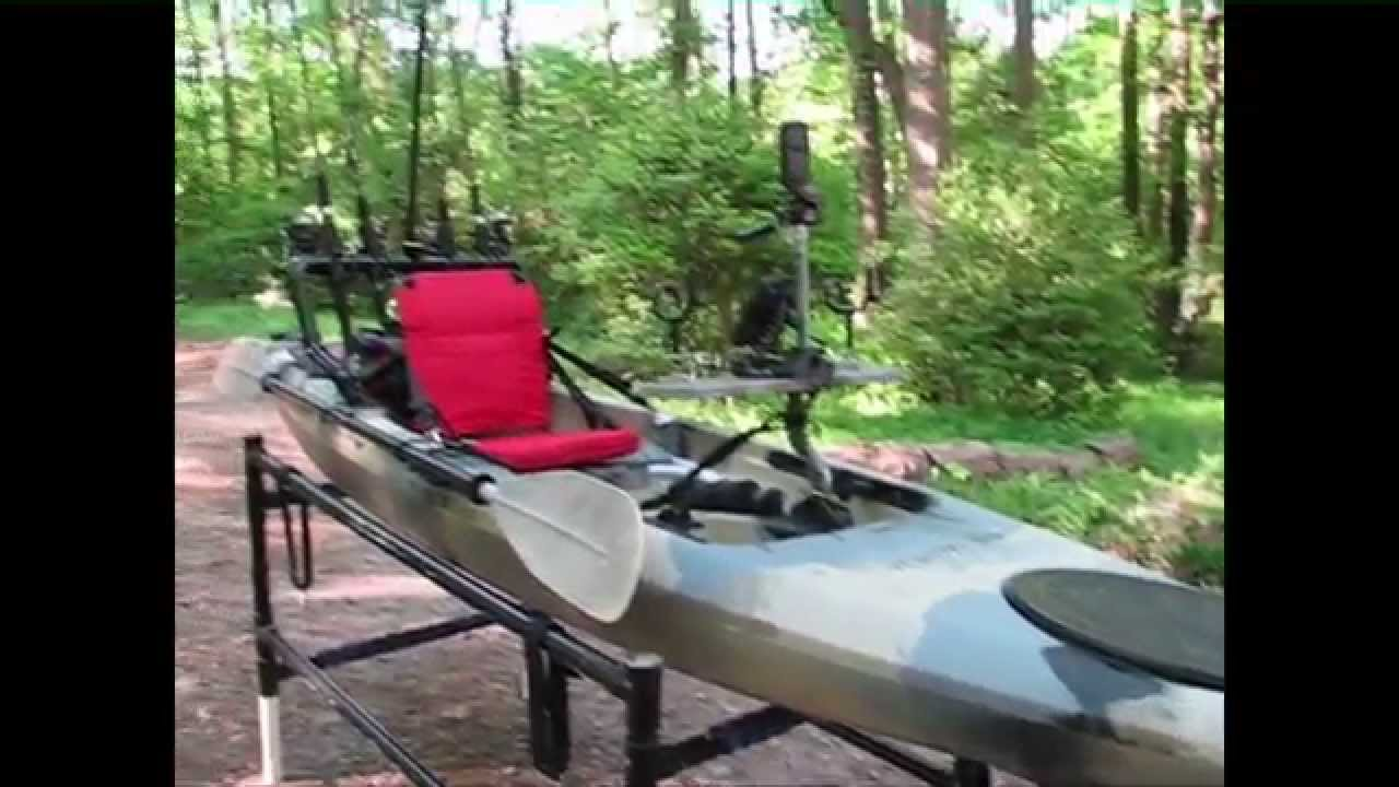 Field stream eagle talon kayak youtube for Field and stream fishing kayak