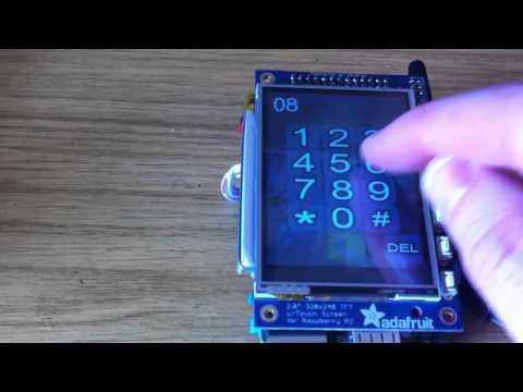 4 GH/s Raspberry PI Bitcoin Miner - PiMiner Phim Video Clip