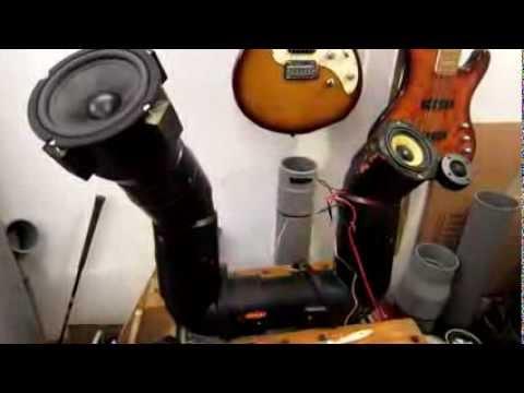 Homemade U tube PVC pipe Audio system for Honda Shadow 750 Phantom (2