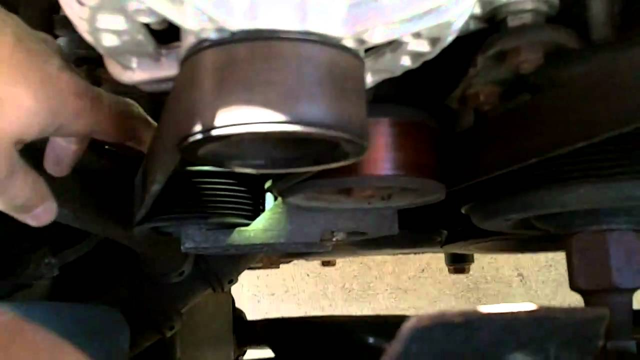 How To Change The Serpentine Belt On A 2003 Dodge Ram 1500