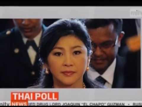 กำนันสุเทพ Thailand Protests First Poll Re Runs Passed Peacefully