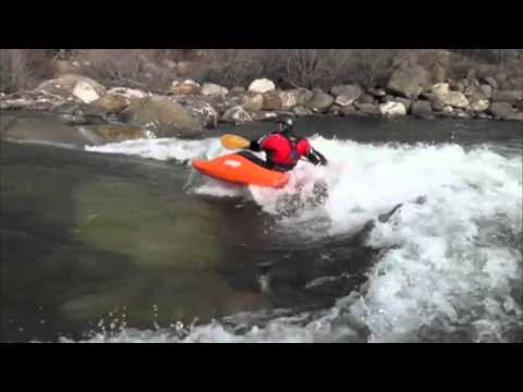 Dustin Urban at the Buena Vista, CO Whitewater Park, 400 cfs