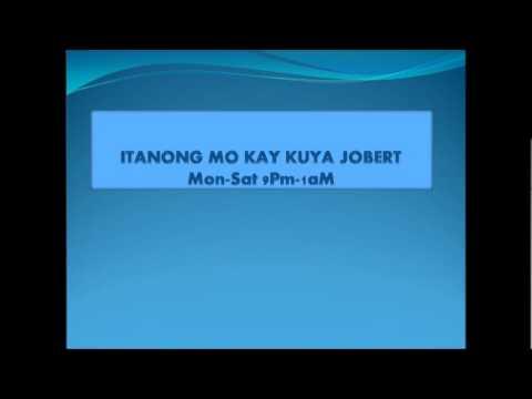 """Itanong Mo Kay Kuya JoBert (""""Hill STorm"""")"""