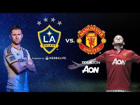 """Matchs amicaux: Manchester United """"cartonne"""" contre LA Galaxy"""