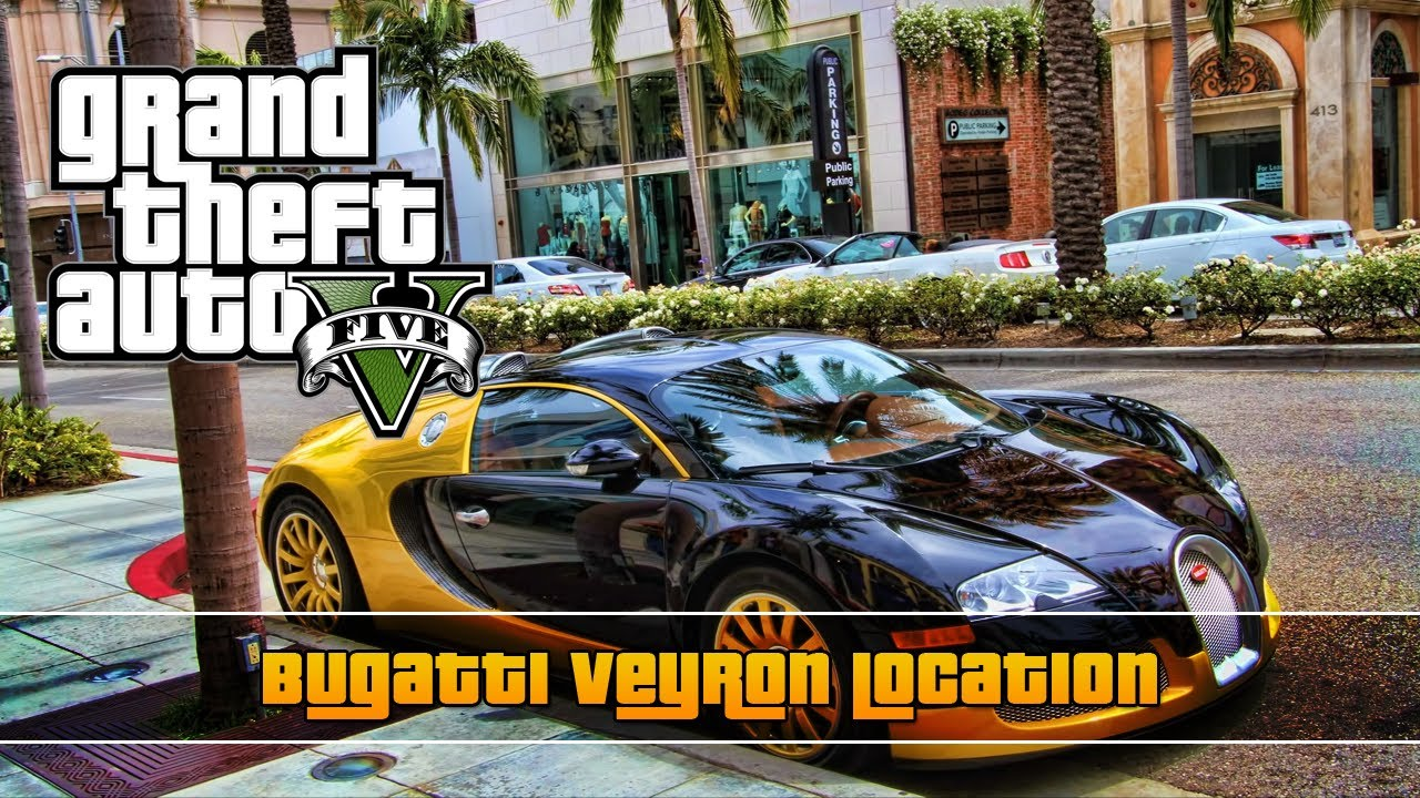 gta 5 bugatti veyron location truffade adder youtube. Black Bedroom Furniture Sets. Home Design Ideas