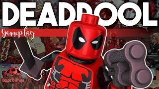 Lego Marvel Super Heroes Desbloquear Deadpool RazuchiTV