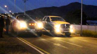 FORD F-150 RAPTOR 6.2L VS DODGE RAM 2500 TURBO DIESEL