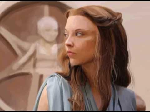 Digital Painting. Margaery Tyrell From Game of Thrones (Spoiler Alart