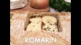 Pan con variedad de quesos