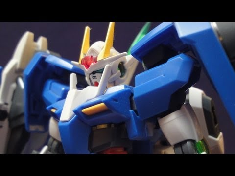 MG 00 Raiser (Part 1: Unbox a) Gundam 00 gunpla model review
