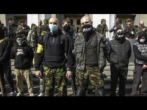 Ukrainian Nazis from Right Sector come to Russia to kill