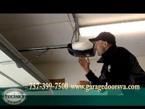 Replace Old Garage Door Opener with New DC Motor Belt Drive