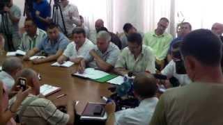 Administratorii rutelor de microbuze au fost convocați la Primărie