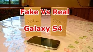 FAKE Vs Real Samsung Galaxy S4 Best 1:1 Copy Quadcore