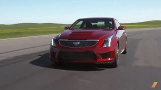 Cadillac ATS-V --  Test Drive. Drive Youtube Channel.