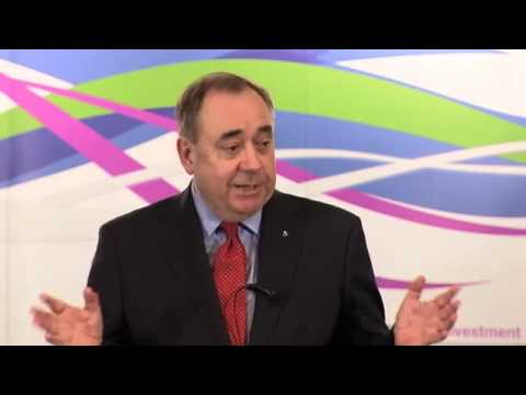 Alex Salmond's speech on currency union and independence