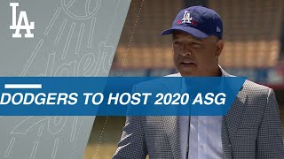 Dodgers to host ASG for first time in 40 years