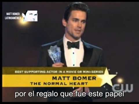 Matt Bomer Critics Choice Tv Awards