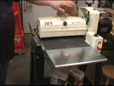 Jet 16 32 Plus Drum Sander Youtube