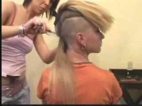Long Hair To Extreme Boyish Haircut Clippered Nape /page