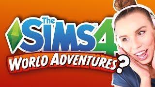 THE SIMS 4 NEW PACKS ANNOUNCED!!  [ Teaser Trailer Reaction ]
