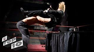 WWE Top 10 mejores aplastamientos en la mesa