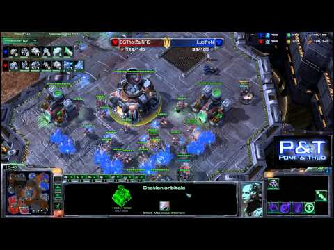 (HD582) Lucifron vs Thorzain - TvT - Starcraft 2 Replay [FR]
