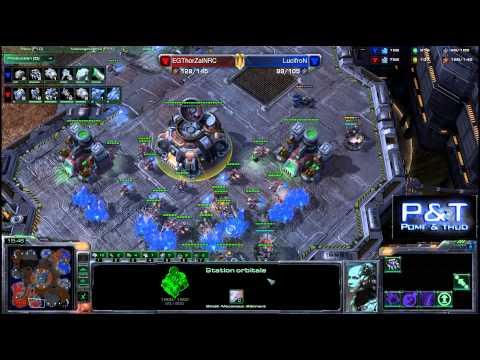 (HD582) Lucifron vs Thorzain - TvT - Starcraft 2 Replay [FR]