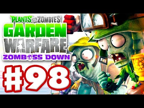 Plants vs. Zombies: Garden Warfare - Gameplay Walkthrough Part 98 - Gardens & Graveyards (Xbox One)