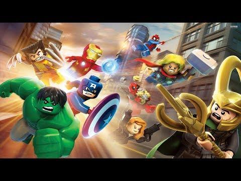 LEGO Marvel Super Heroes  Pelicula Completa Español