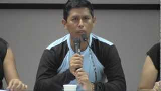 Testimonio de Lurgio Gavilán sobre el terrorismo en el Perú