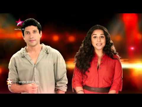 Nach Baliye 6 : Farhan Akhtar and Vidya Balan at the Nach Baliye grand finale!