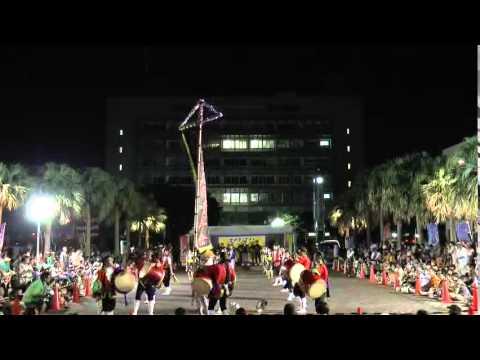 エイサーナイト2015/8/16(日)@沖縄市庁舎前線広場(後半)