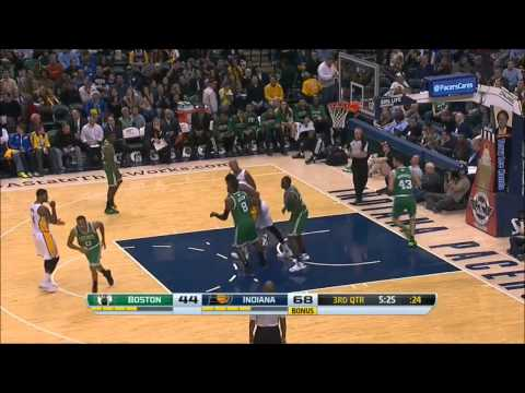 Paul George vs Boston Celtics 2013.12.22