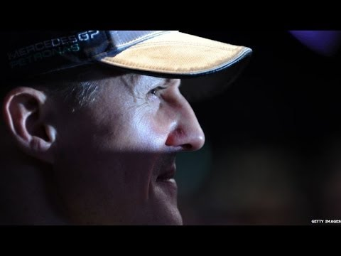Michael Schumacher 'slowly being brought back out of coma' - BBC News