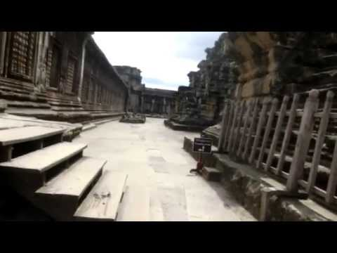Temple Of Wonder - Angkor Wat - Temple and Tourist - Angkor Wat Cambodia